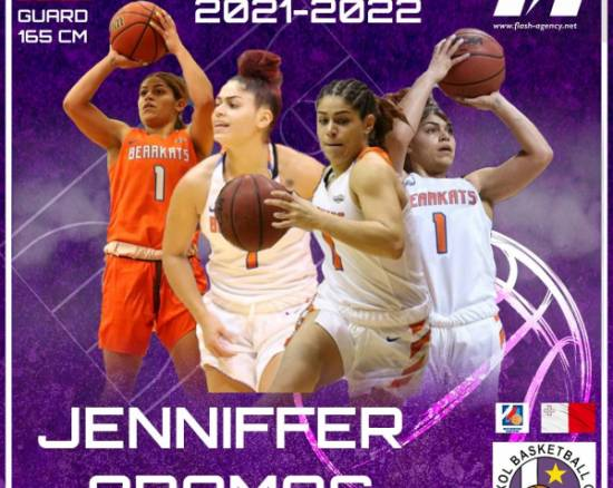 Jenniffer Oramas has signed with Luxol BC