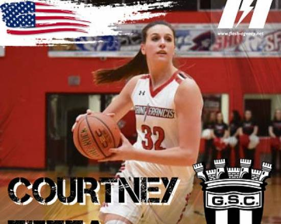 Courtney Zezza has signed with Guifoes Sport Clube