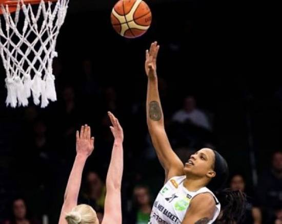 Alyssa Lawrence has re-signed with A3 Basket