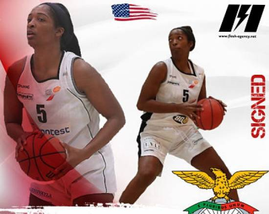 Kamilah Jackson has signed with Benfica Lisbon