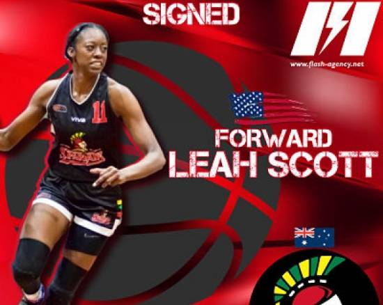 Leah Scott has re-signed with Lady Spartans
