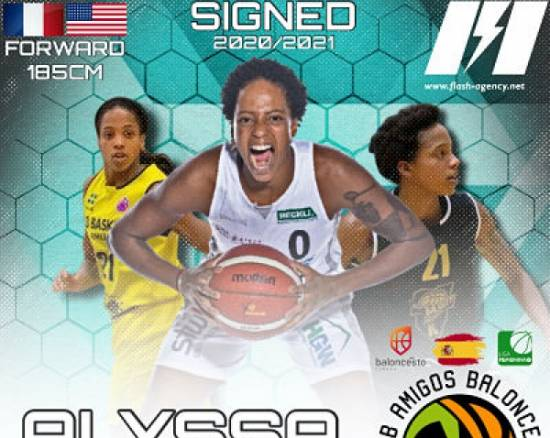 Alyssa Lawrence has signed with CAB Estepona